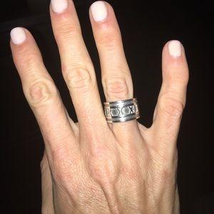 Tiffany & Co Atlas Ring - Sterling Silver